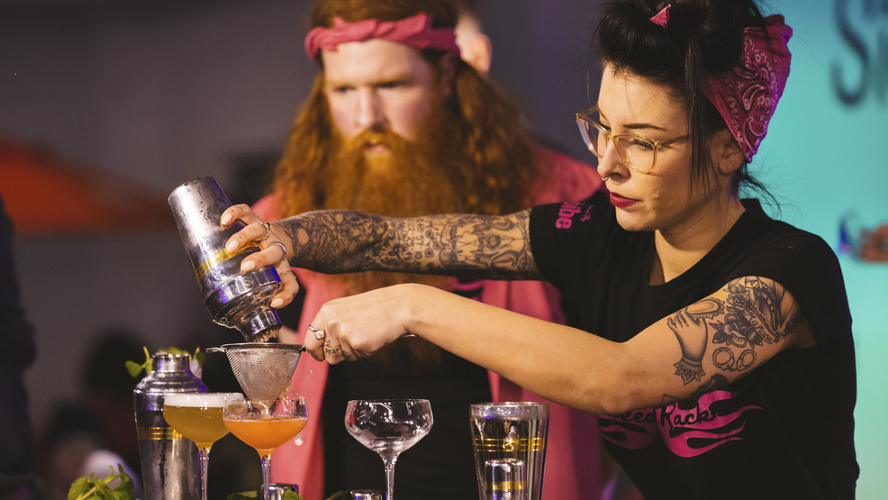 Photos: Top PNW female bartenders compete in craft cocktail competition