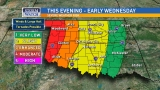 Tornado watch issued for far western Oklahoma