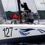 Maine sailors steer the Amhas during Atlantic Cup