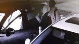 Burglars caught on camera breaking into vehicles