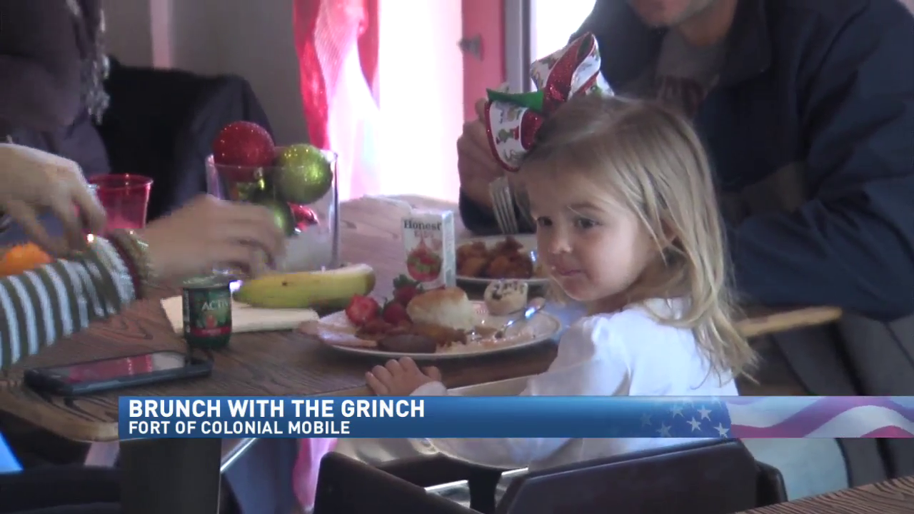 Bruch with The Grinch at the Fort of Colonial Mobile
