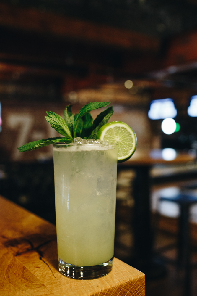 Multiball Mojito: rum, kiwi, lime, and mint / Image: Catherine Viox // Published: 11.20.18