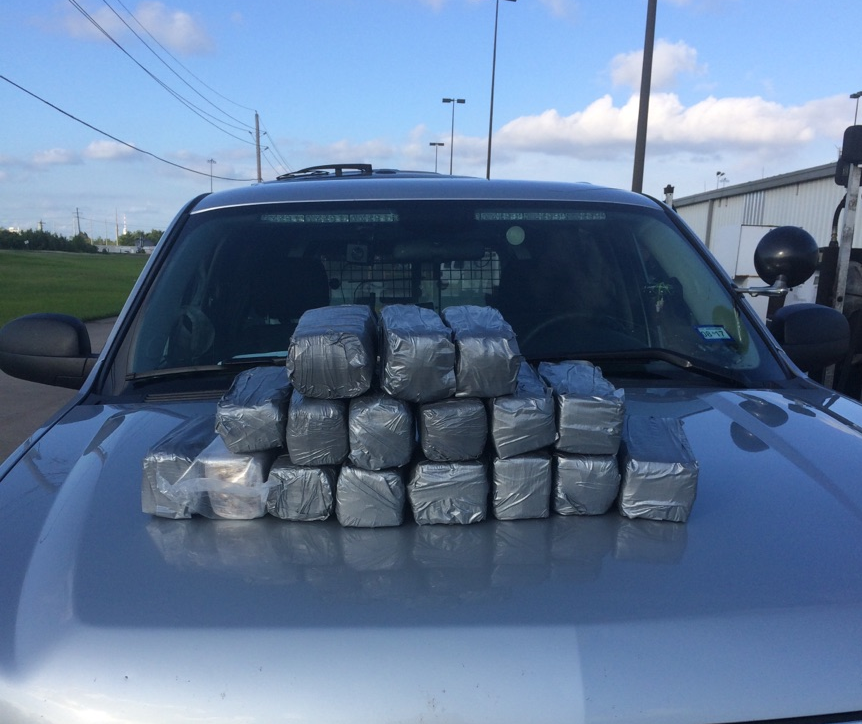 A 38-year-old Rio Grande woman was arrested Wednesday in Jefferson County after deputies say they found 42 pounds of marijuana concealed in her vehicle. (Photo provided by the Jefferson County Sheriff's office)