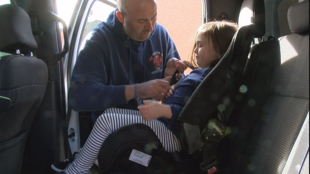 Butte Fire Department Gives Tutorial On Child Seat Belt Safety