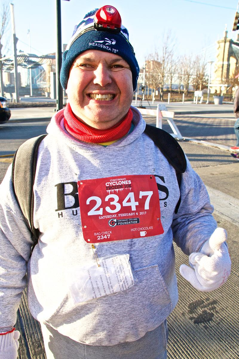 The Cincinnati Cyclones hosted its annual Frozen 5k/10k event on Saturday, Feb. 4 throughout Downtown Cincinnati. / Image: Dr. Richard Sanders