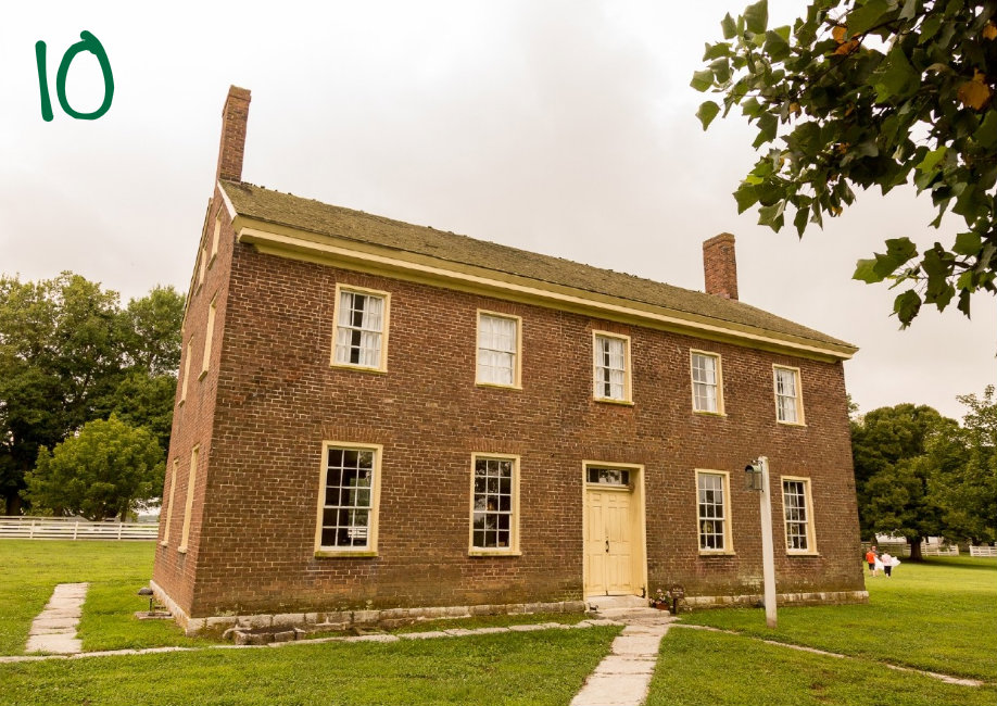#10 - Near Lexington, a village frozen in the 1800s exists. It's called Shaker Village. / Image: Daniel Smyth Photography