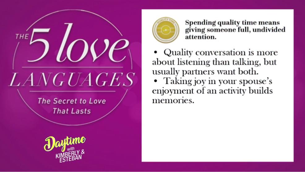 Take the love language quiz | Watch Daytime