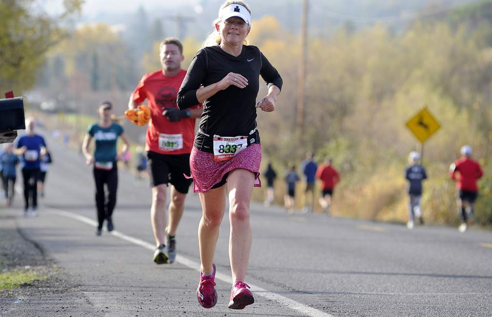 Pioneer 5k and 9-mile Runs in Phoenix 11-11-17. - Andy Atkinson