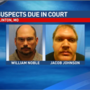 Suspects in fatal Clinton officer shooting due in court