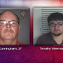 Two arrested for child enticement after online stings