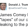 Trump: Comey better hope there are no 'tapes' of our conversations