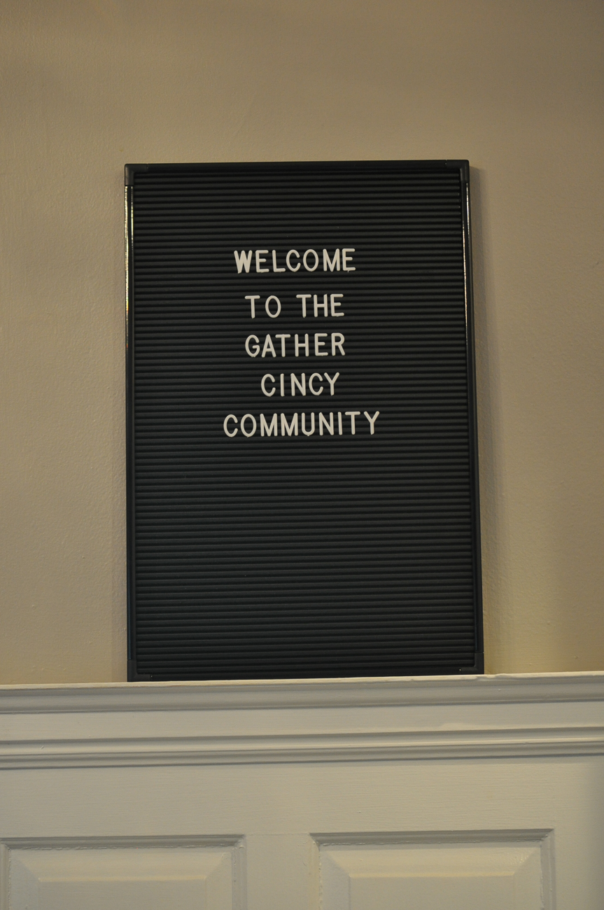 Gather is a co-working space that offers two dedicated office spaces for rent, multiple meeting rooms, a photography studio, artist studio, and a soon-to-be ready soundproof studio for things like remote presentations, important interviews and even podcasting. Additionally, childcare services are also provided. All childcare takes place on the first floor of the 1890 home. Cameras are in each room so parents can check on their kids using their phone. ADDRESS: 2345 Ashland Avenue (45206) / Image: Jennifer Merritt // Published: 7.14.18