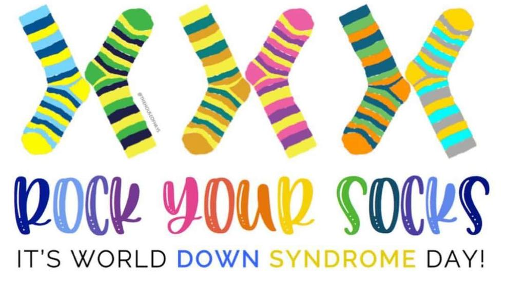 Rock your socks: It's World Down Syndrome Day