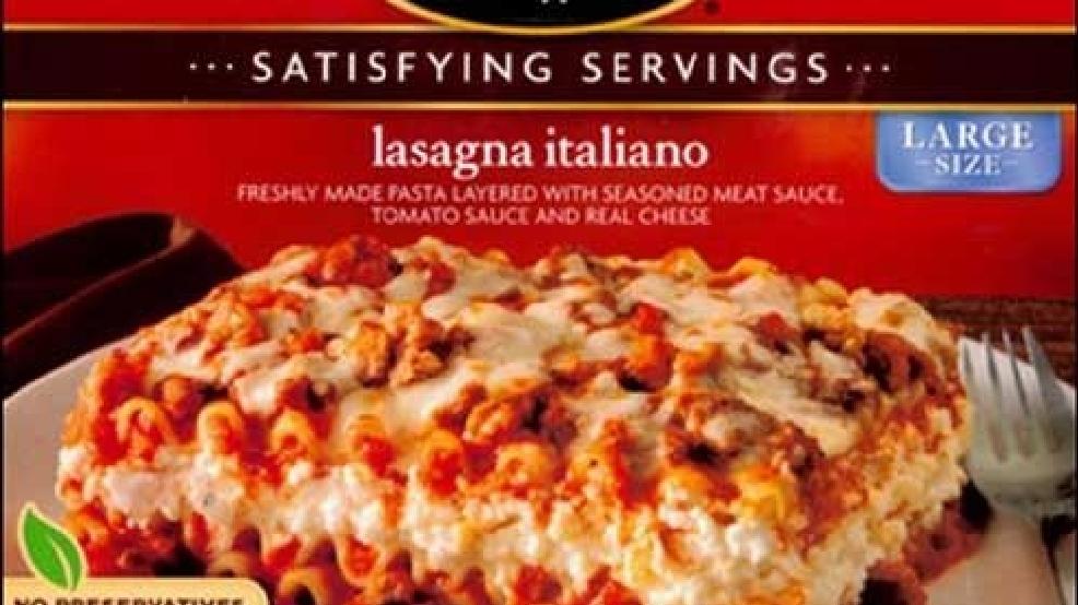 stouffer's frozen lasagna recalled  wciv