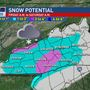 Winter Weather Advisory issued ahead of region's first possible snowfall