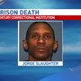 Inmate altercation leaves one man dead