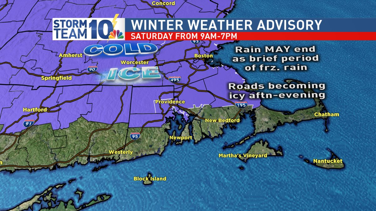 The Flood Watch will continue into early Saturday, Jan. 13, 2018, with a Winter Weather Advisory on its heels. (WJAR)<p></p>