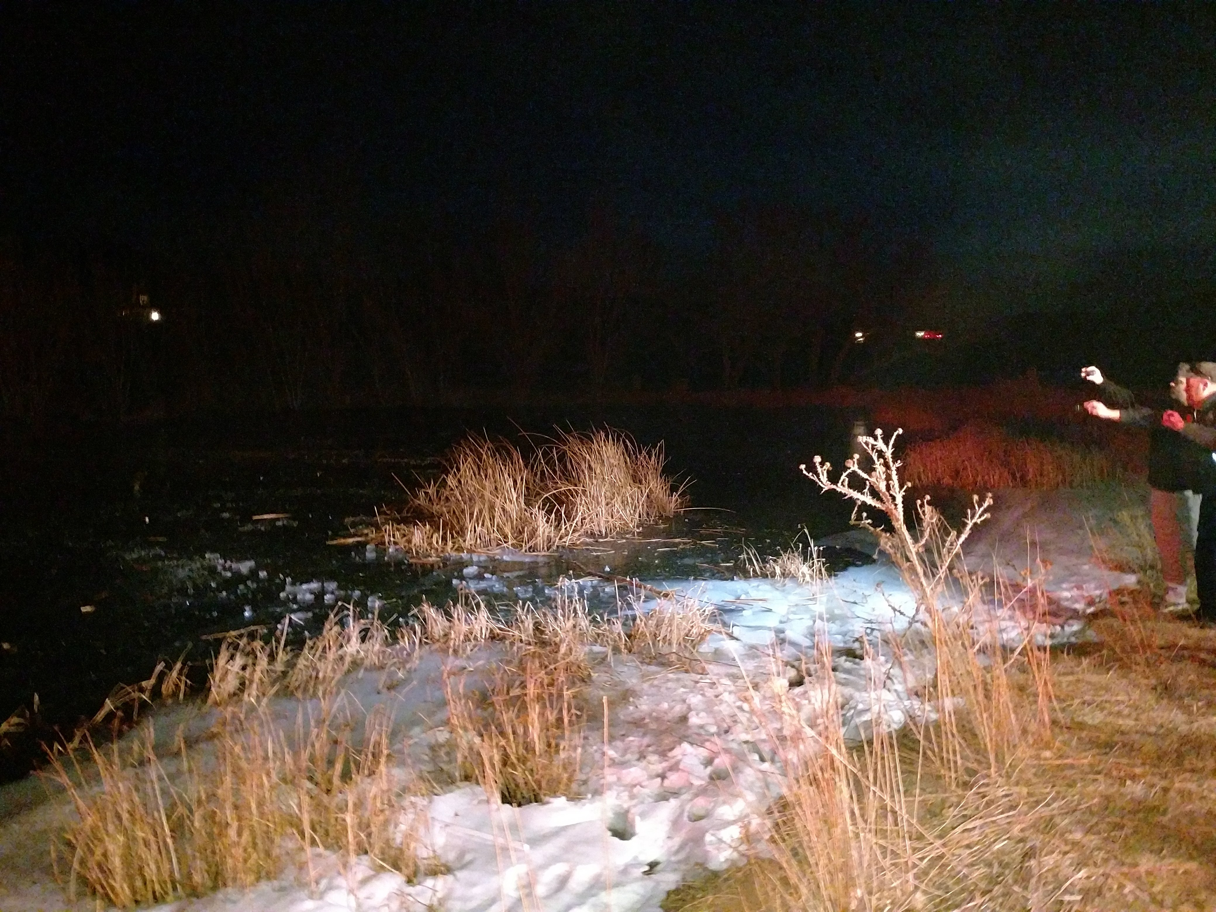Boy saved from a frozen pond by hero sergeant. (Photo: KUTV)<p></p>