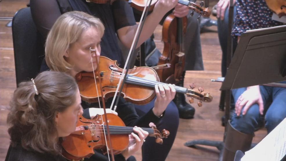 Fifty people from all walks of life get a chance to take notes from and play notes *with the orchestra's professional musicians. (WSYX/WTTE)