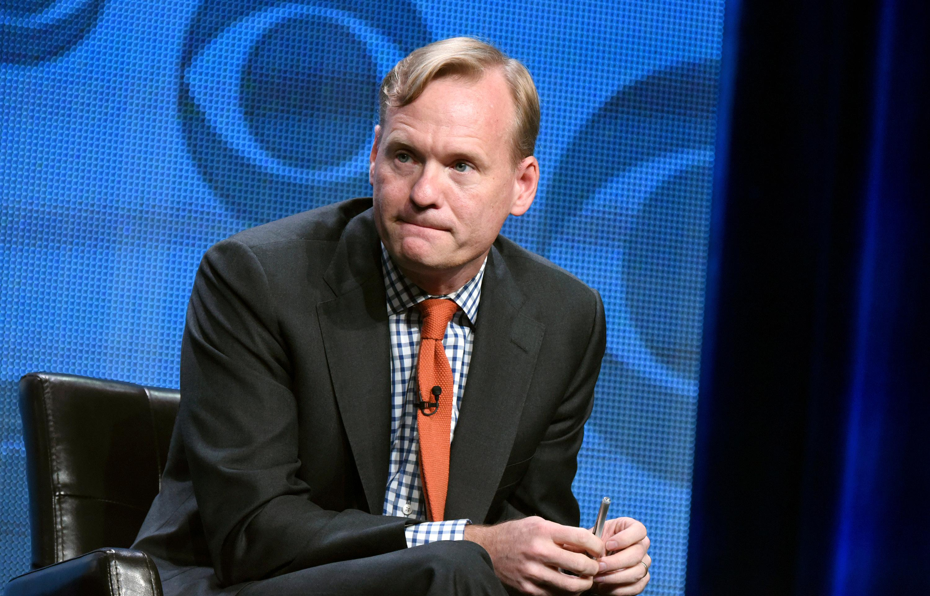 "FILE - In this Aug. 10, 2015 file photo, Political Director for CBS News, John Dickerson, participates in the CBS News panel at the CBS Summer TCA Tour in Beverly Hills, Calif.  CBS News has selected Dickerson as Charlie Rose's replacement on the ""CBS This Morning"" program, pairing him with current anchors Gayle King and Norah O'Donnell. (Photo by Richard Shotwell/Invision/AP, File)"