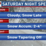 "Winter weather advisory| 2-4"" of snow expected across central Pa. Saturday"