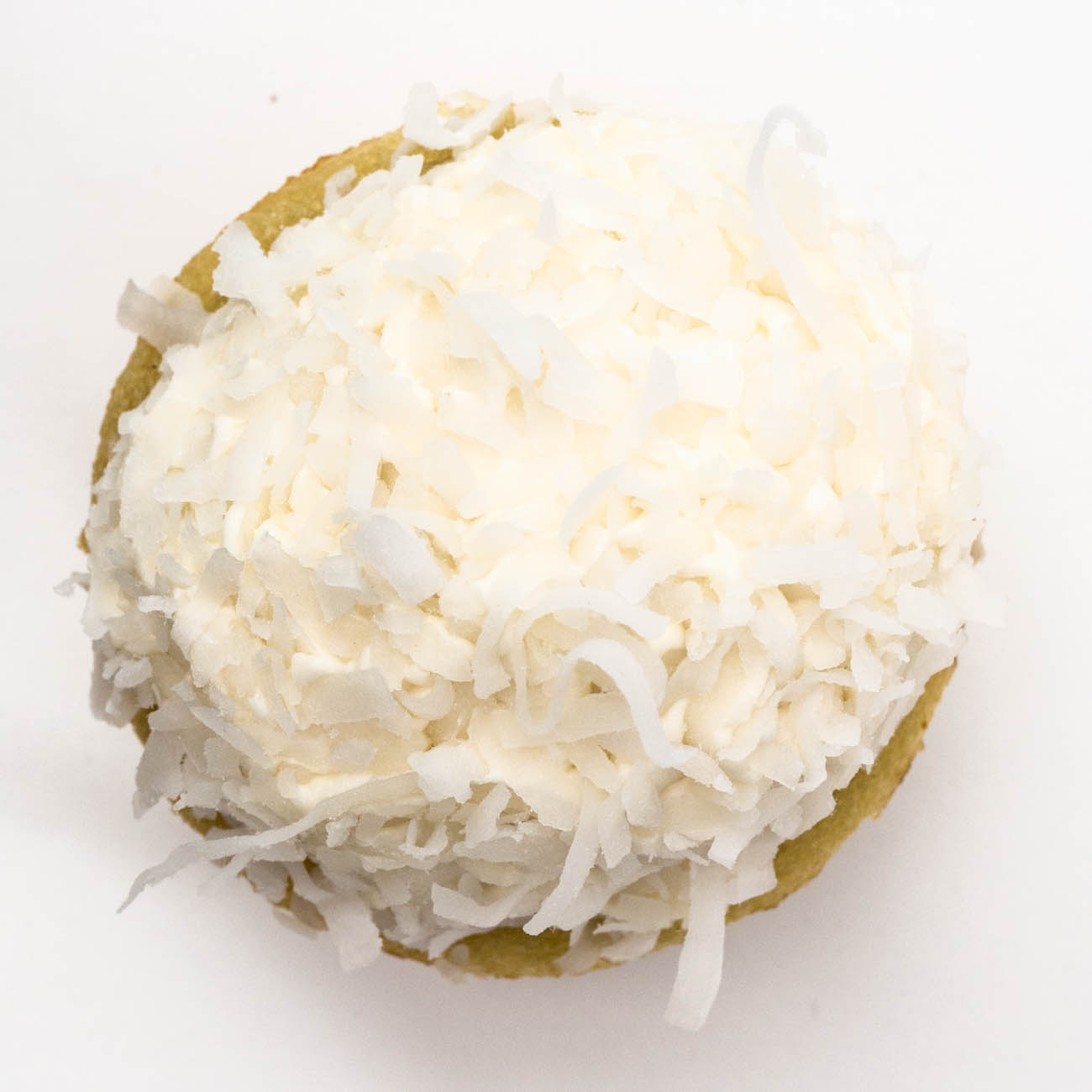 A coconut cupcake from Abby Girl Sweets / Image: Catherine Viox // Published: 1.4.20