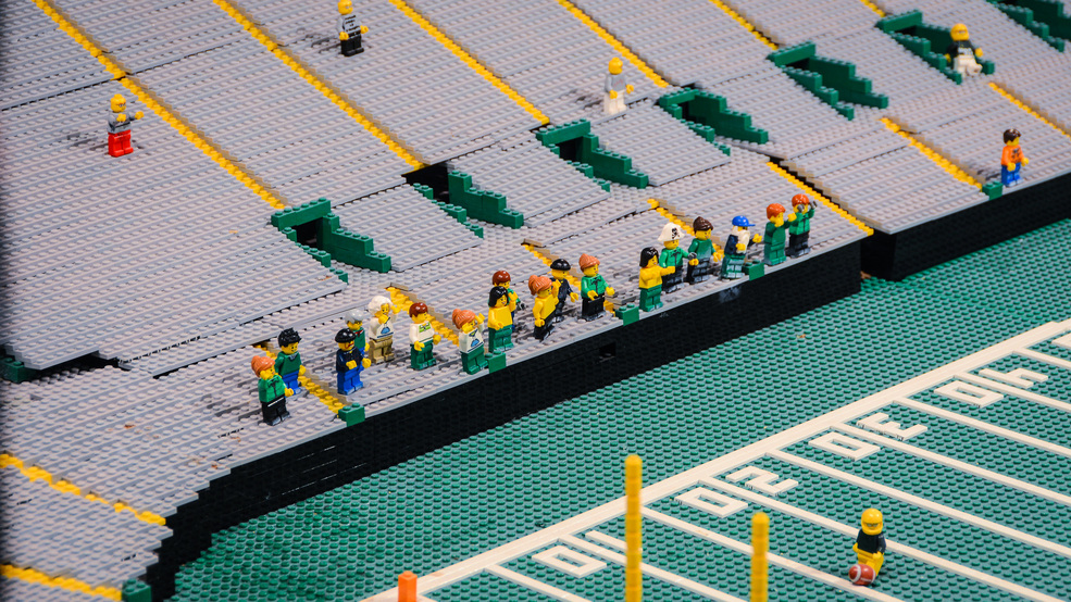 Have your Packers fandom immortalized in Lego form | WLUK