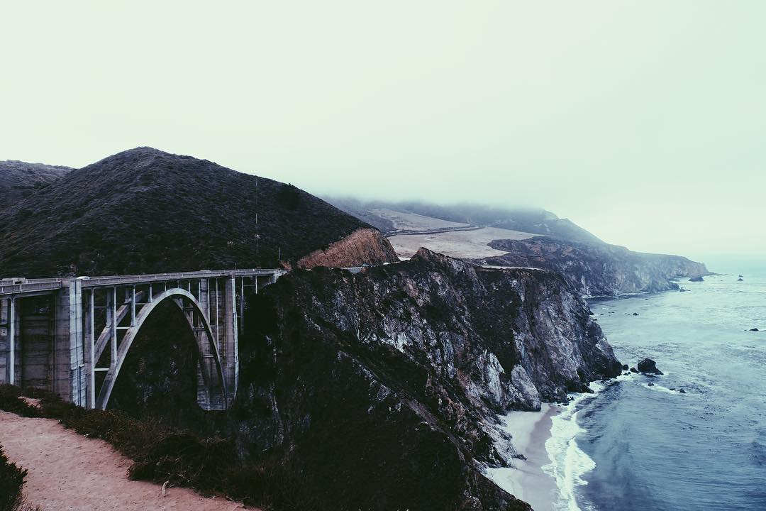 IMAGE: IG user @cvdric / POST: Seeing this beauty was finally checked off my bucket list yesterday. #BigSur