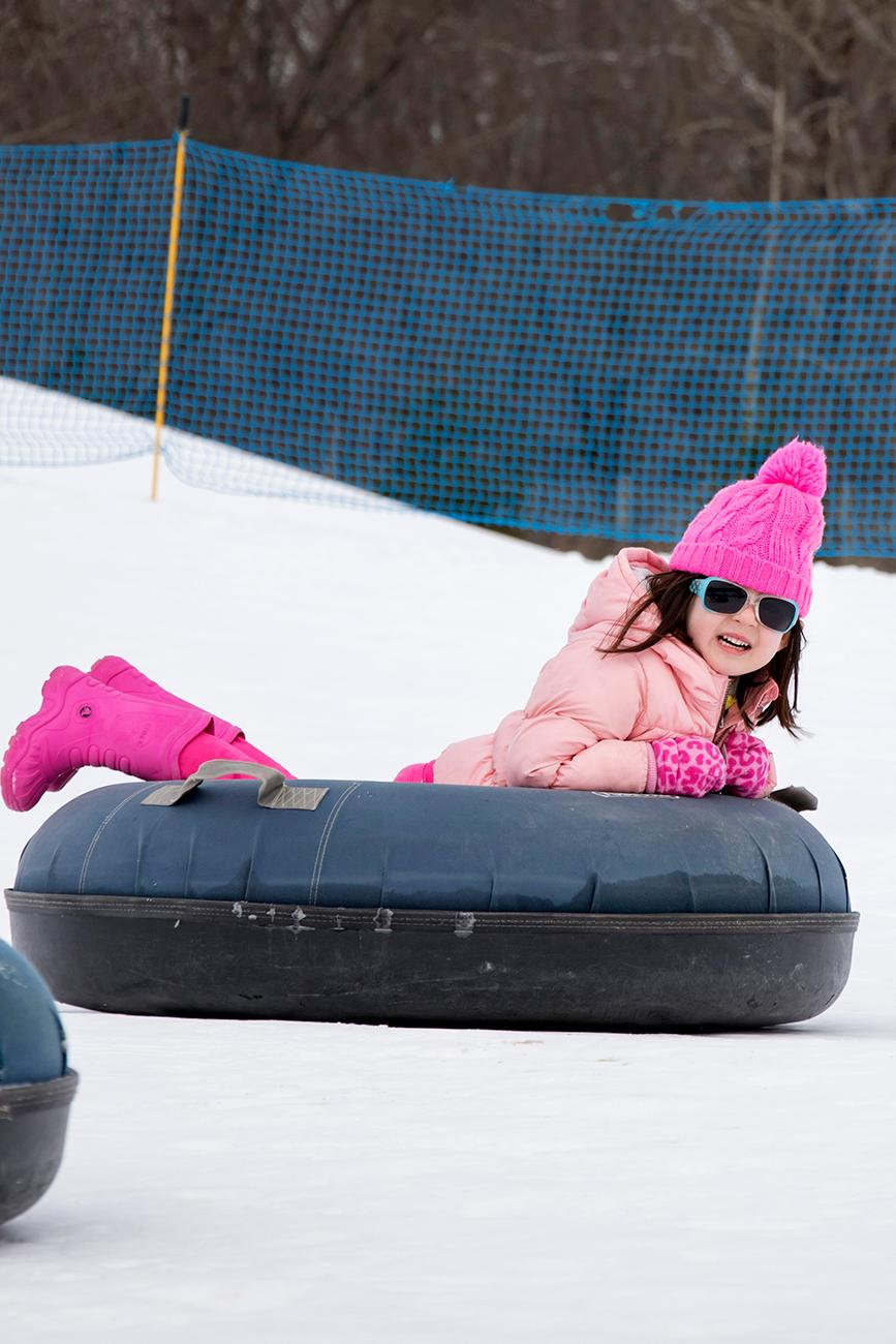 A separate, small tubing area is provided for children 3-6 years old. / Image: Allison McAdams // Published: 1.17.18<p></p>