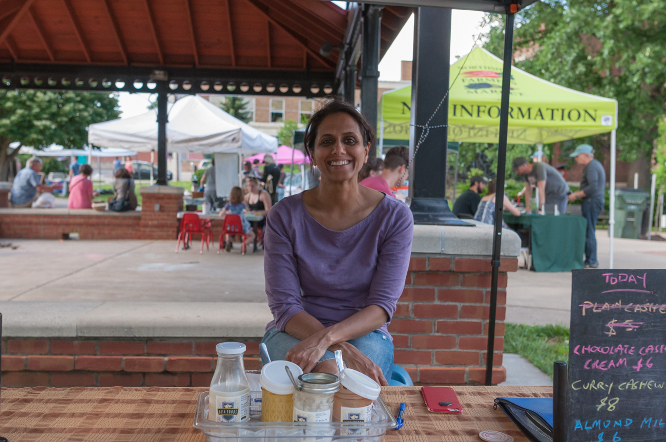 Kirana Rao, owner of Nija Foods / Image: Mike Menke // Published: 7.16.17