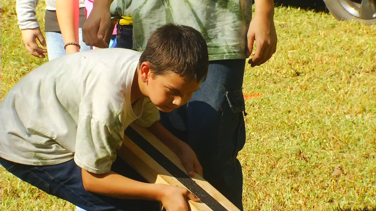 A team-building program in Henderson County has been going strong for more than 40 years. (Photo credit: WLOS staff)