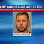 Police: YMCA camp counselor got drunk, slept in bunk with 7-yr-old girl