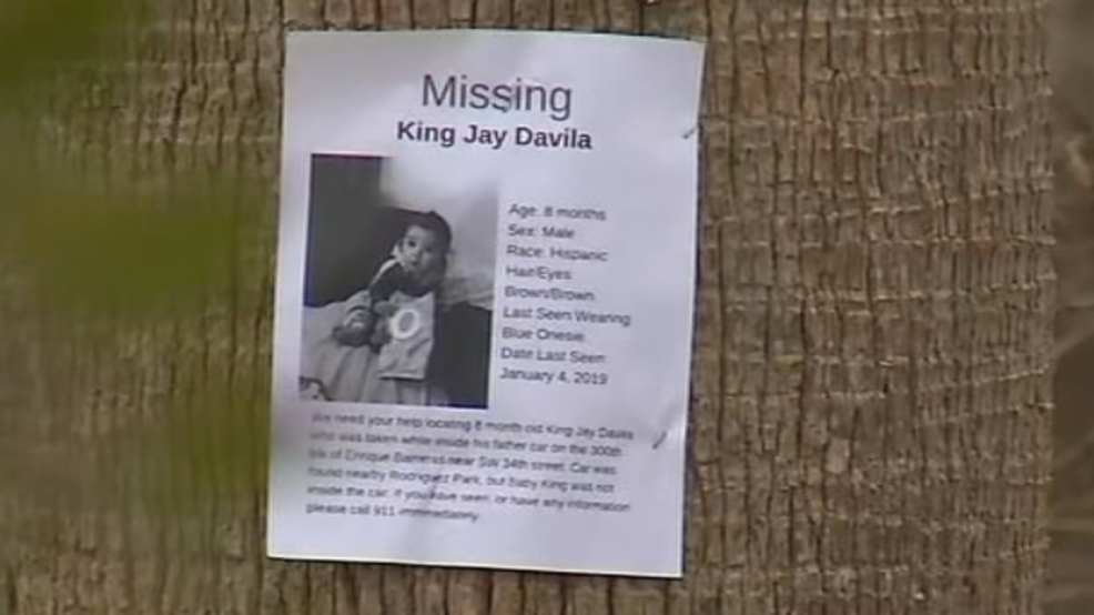 Family Of Missing 8 Month Old King Jay Davila Continues