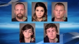 Members of The Brood gang arrested on meth, car theft charges