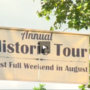 Small town holds historic tours