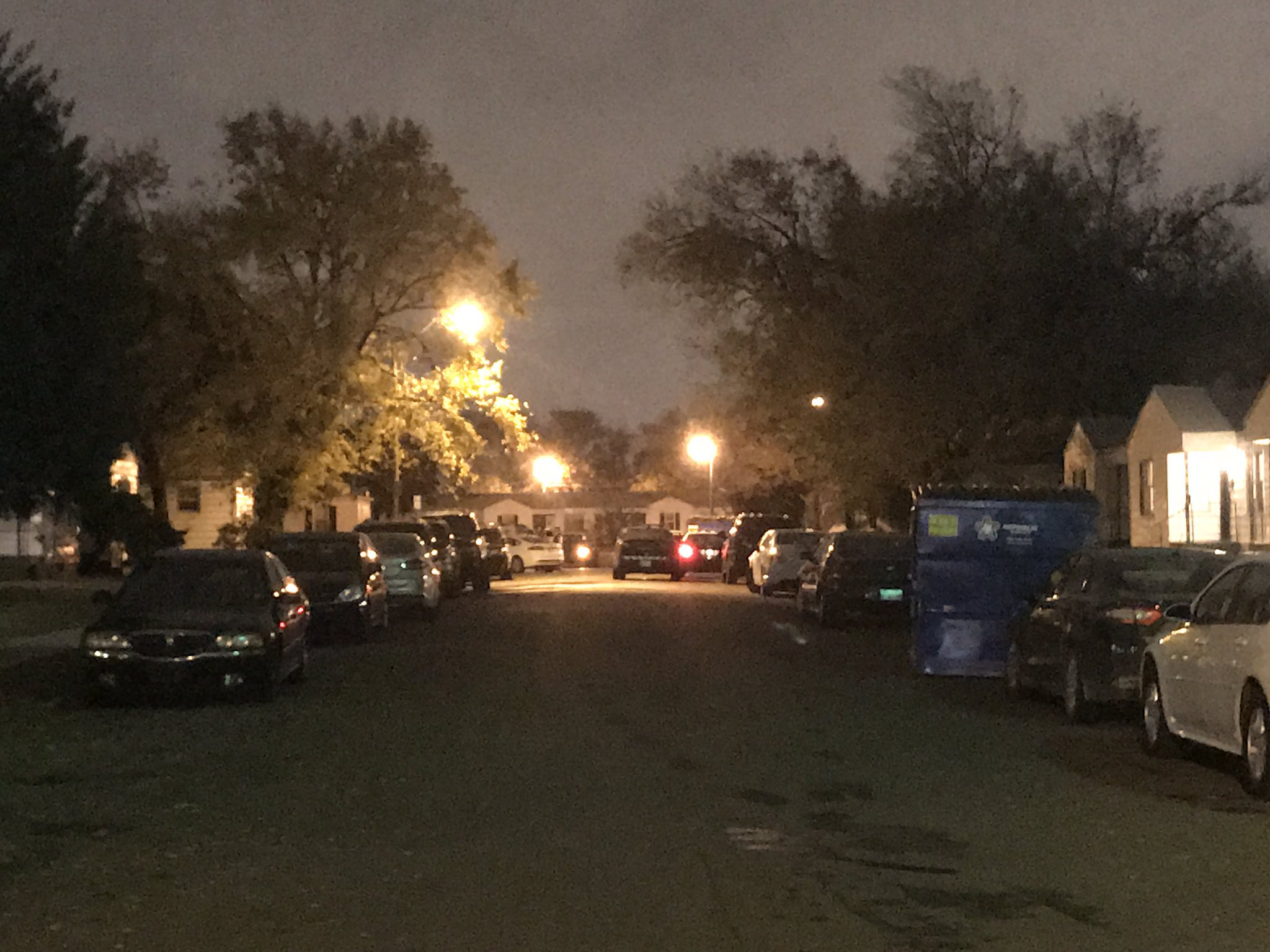 Police investigating after officers shoot a man who was reportedly trying to light himself on fire. (Julie Calhoun/KOKH)
