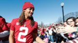 LOOK: Alabama QB Jalen Hurts cuts off signature dreads in bet with teammate