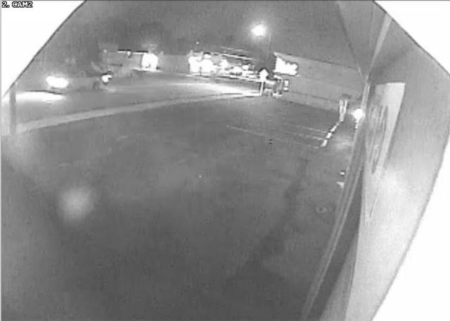 This surveillance video from Scott's Auto Repair captured the crash late Tuesday night.