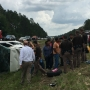 Video: 16 passengers involved in Baldwin County single-vehicle crash