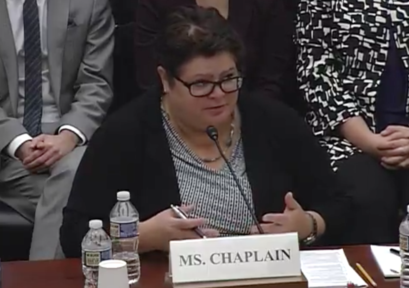 Ms. Cristina Chaplain, director, Acquisition and Sourcing Management, U.S. Government Accountability Office / Photo: The House Science, Space and Technology Committee's Subcommittee on Space
