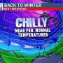 Record warmth steps aside as winter returns late week