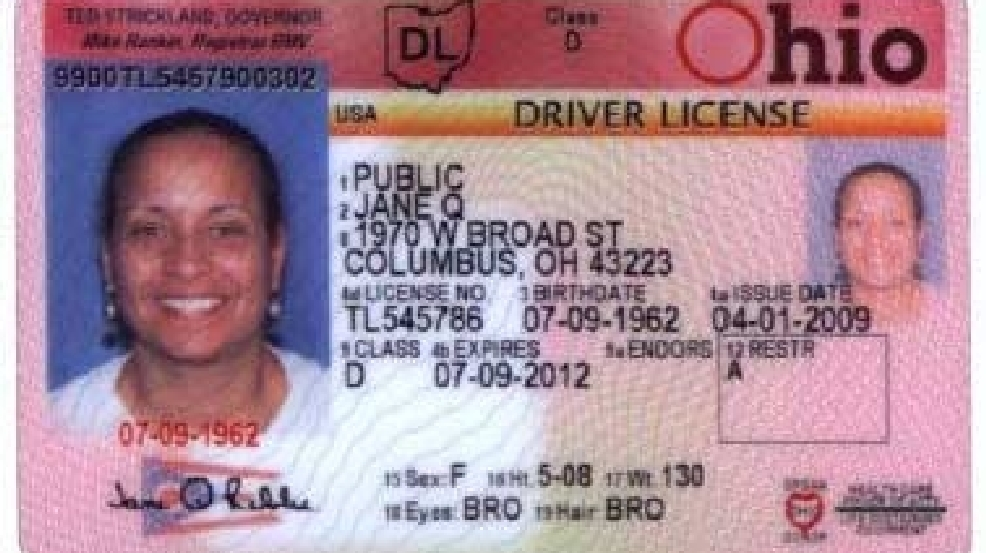 showing ohio driver's license could prevent you from boarding planes