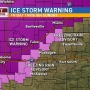 More freezing rain on the way: Ice Storm Warning for the Tulsa metro