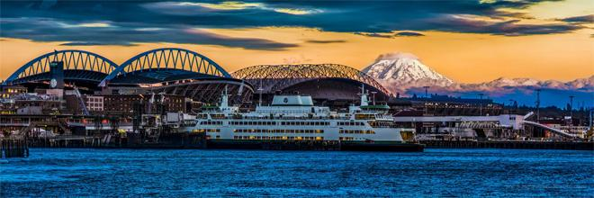 When Mt.Rainier came out to play on Sunday! (Photo: Sigma Sreedharan Photography)