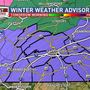 Winter Weather Advisory in effect for tomorrow morning