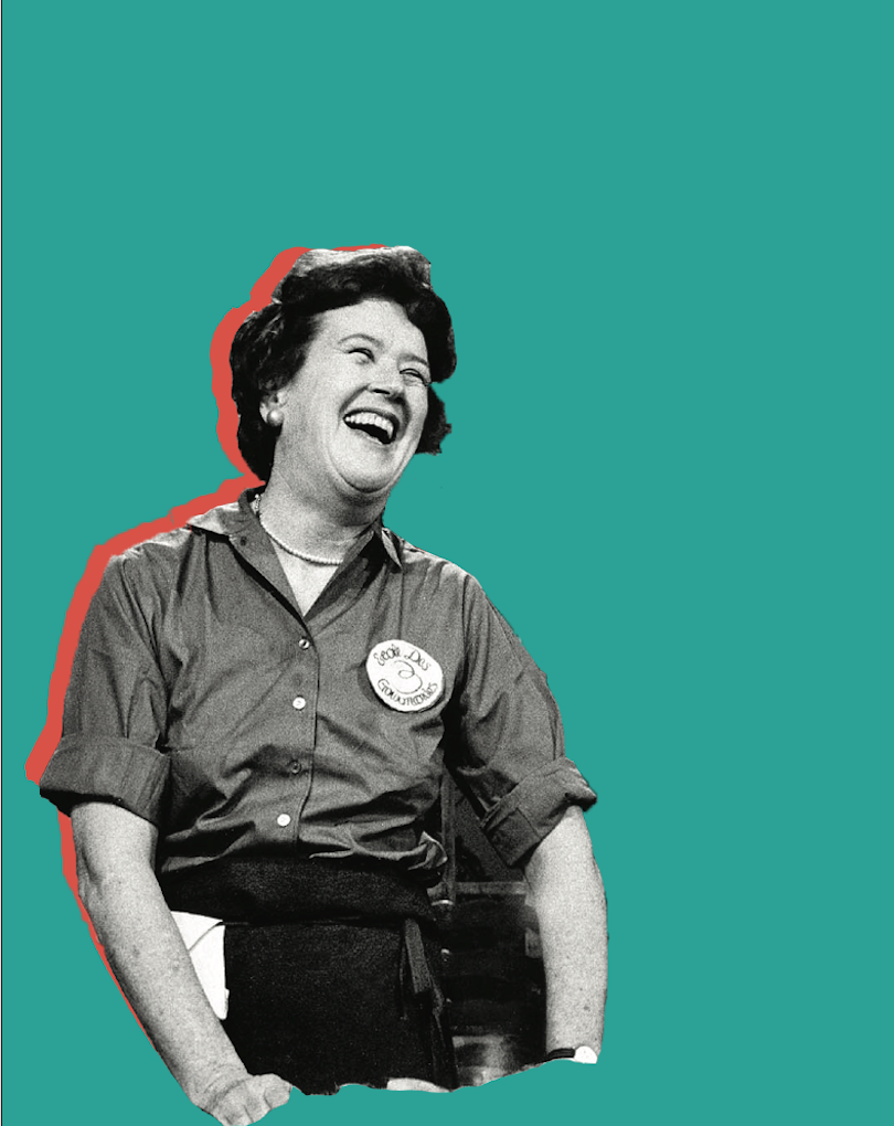 Julia Child revolutionized home cooking with her tips, techniques and easy way of talking to the television audience like they were good friends.{ } Her life is being celebrated through a very special performance on stage at The Rendezvous in Seattle called Bon Appétit: The Julia Child Show. (Credit:{ } The Rendezvous){ }