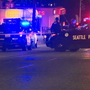 Man shot dead by Seattle police following chase, car crash