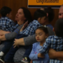 Family adopts five children