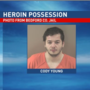 Police: Bedford County man accused of heroin possession after apparent overdose