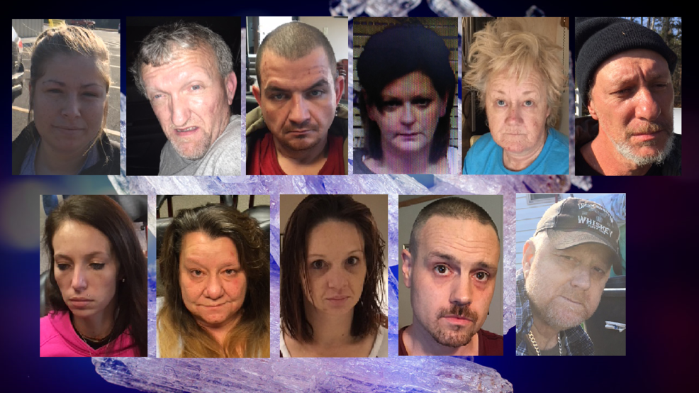 Eleven arrested in Meigs County after 2-year illicit drug